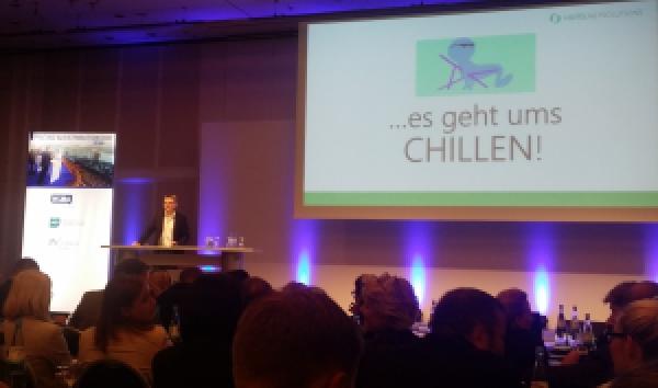 Es geht ums Chillen am HSMA Pricing Day in Frankfurt 2015