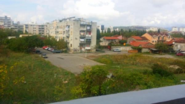 Meine Aussicht vom Balkon in Podgorica, Montenegro.